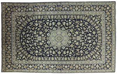 Kashan Hand Knotted Persian Area Rug