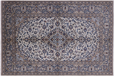 New Hand Knotted Kashan Persian Area Rug