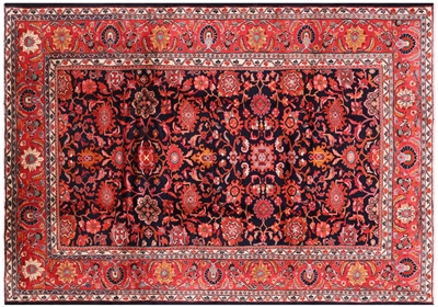 Hand Knotted Persian Mahal Area Rug