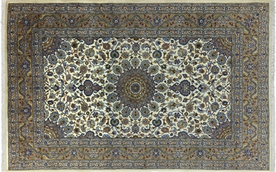 New Full Pile Authentic Persian Mashad Area Rug