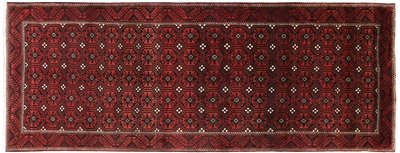 New Authentic Persian Balouch Hand Knotted Rug