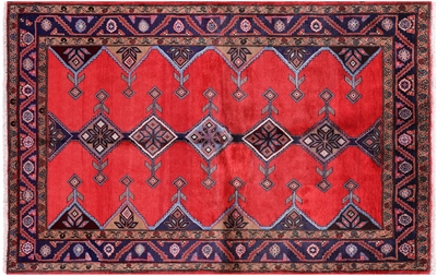 New Full Pile Wool Persian Nahavand Rug