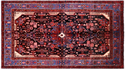 Hand Knotted New Persian Nahavand Rug