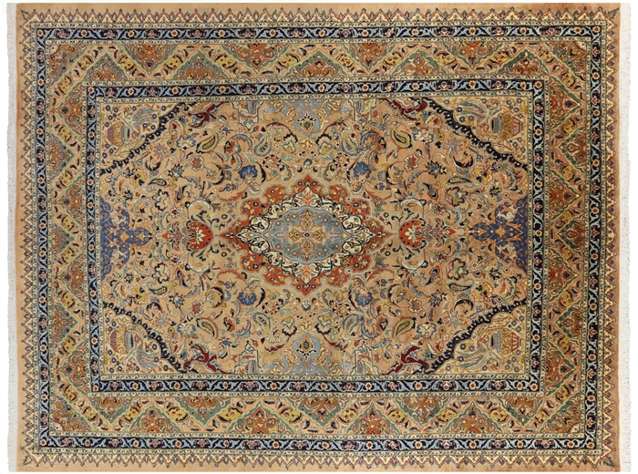 New Kashmar Persian Hand Knotted Rug