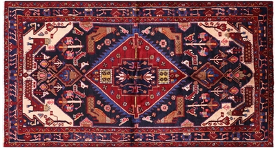 New Persian Nahavand Tribal Hand Knotted Rug