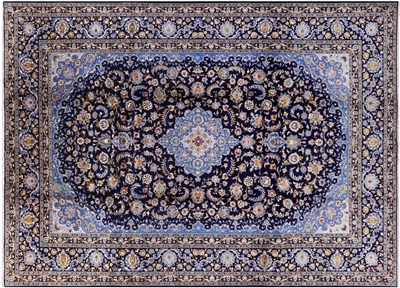 New Persian Kashan Hand Knotted Full Pile Rug