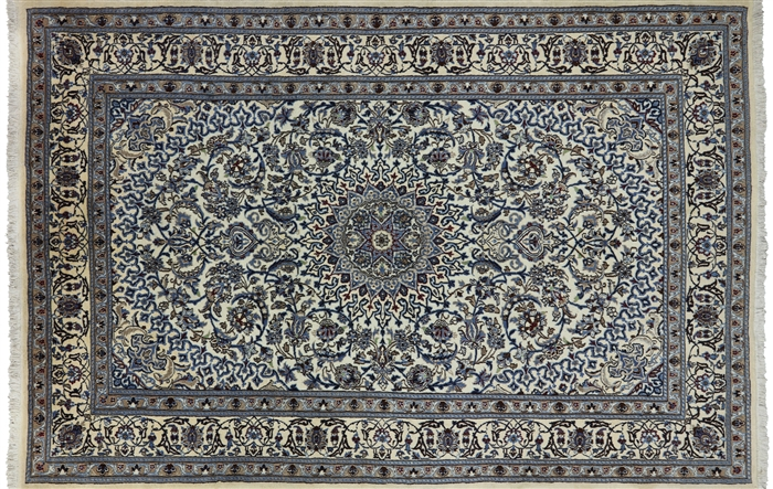 New Nain Full Pile Persian Area Rug