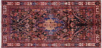 Persian Nahavand Full Pile Wool Rug