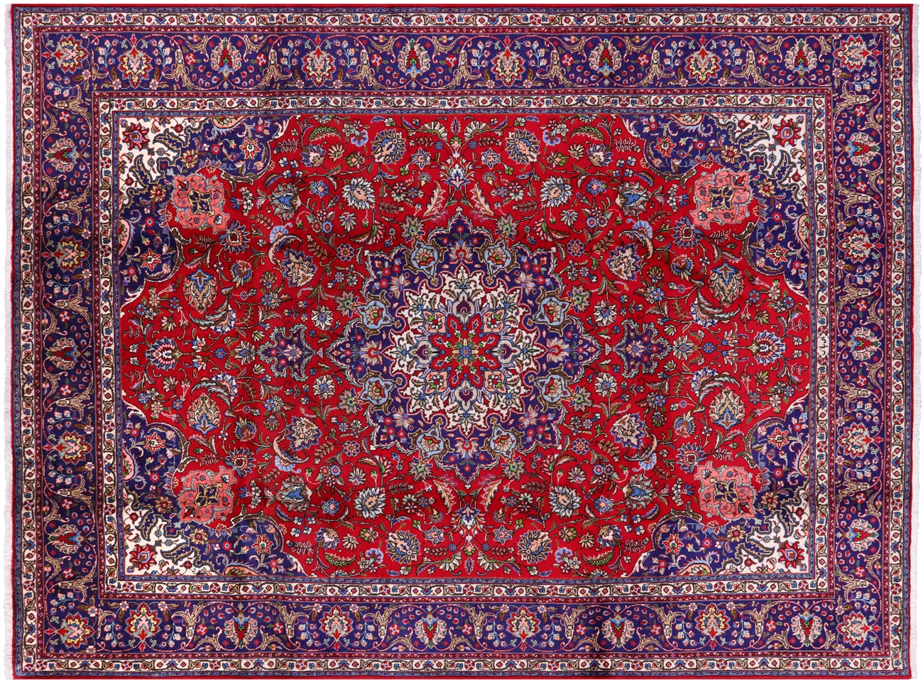 New Persian Tabriz Handmade Wool Rug 9 11 X 13 1 S1900