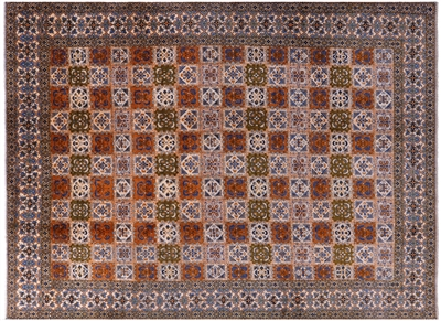 New Authentic Persian Kashan Hand Knotted Rug