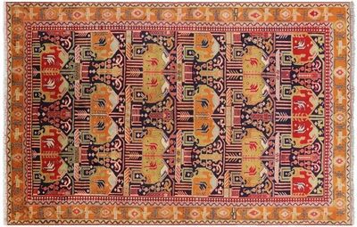 New Persian Tabriz Area Rug
