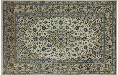 New Authentic Persian Kashan Area Rug