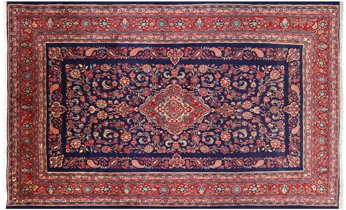 New Persian Hamadan Full Pile Rug