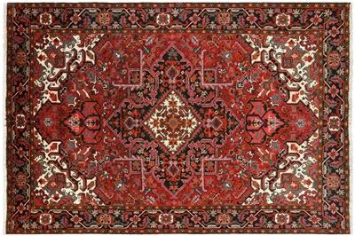 New Persian Heriz Hand Knotted Rug