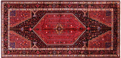 New Persian Nahavand Wool Area Rug