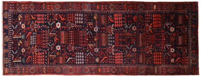 New Persian Nahavand Full Pile Rug