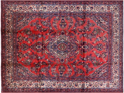 New Persian Mahal Hand Knotted Wool Rug