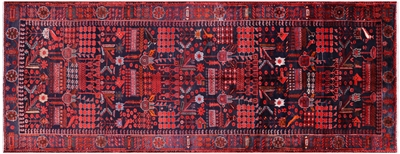 New Persian Nahavand Hand Knotted Rug