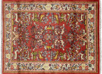 New Full Pile Persian Hamadan Rug