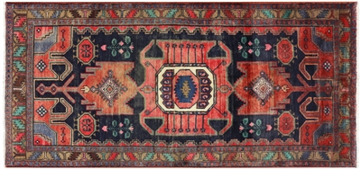 New Authentic Persian Hamadan Rug