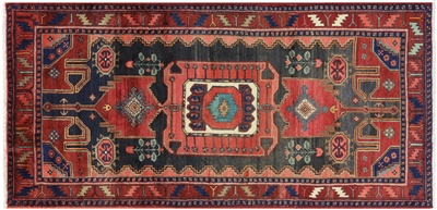 Authentic Persian Hamadan Wool Rug