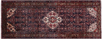 New Persian Nahavand Runner Rug