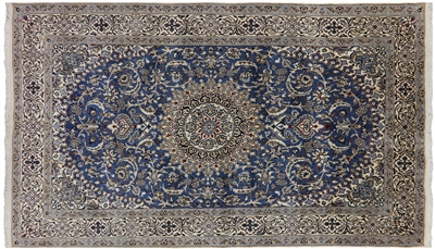 Persian Nain Full Pile Area Rug
