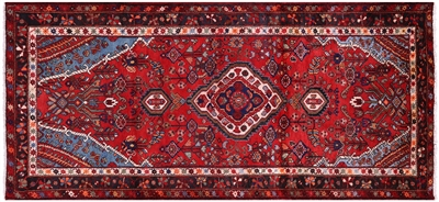 New Persian Hamadan Handmade Wool Rug