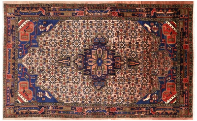 New Persian Bijar Full Pile Area Rug