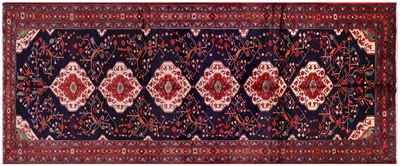 New Persian Hamadan Full Pile Wool Rug