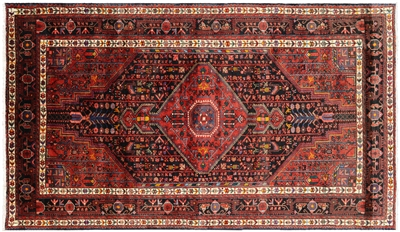 New Persian Hamadan Full Pile Area Rug