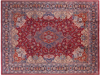 New Persian Kashmar Handmade Wool Rug
