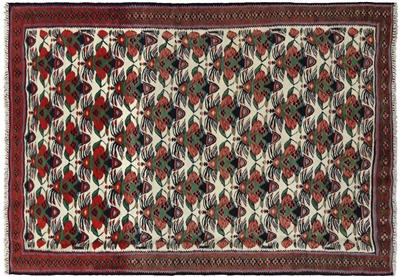 New Persian Kilim Hand Knotted Area Rug