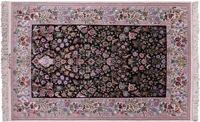 Hand Knotted Signed Isfahan Persian Rug