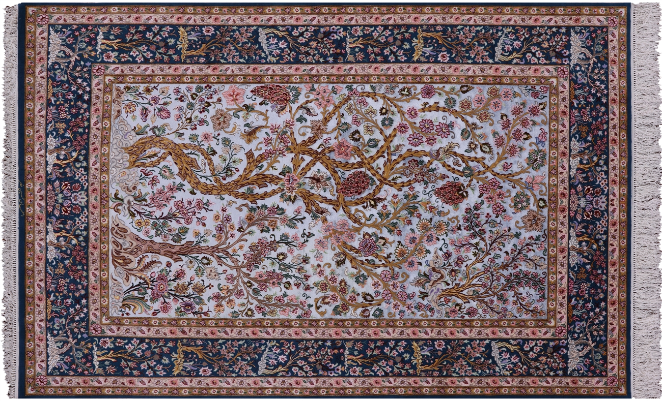 Persian Isfahan Signed Area Rug