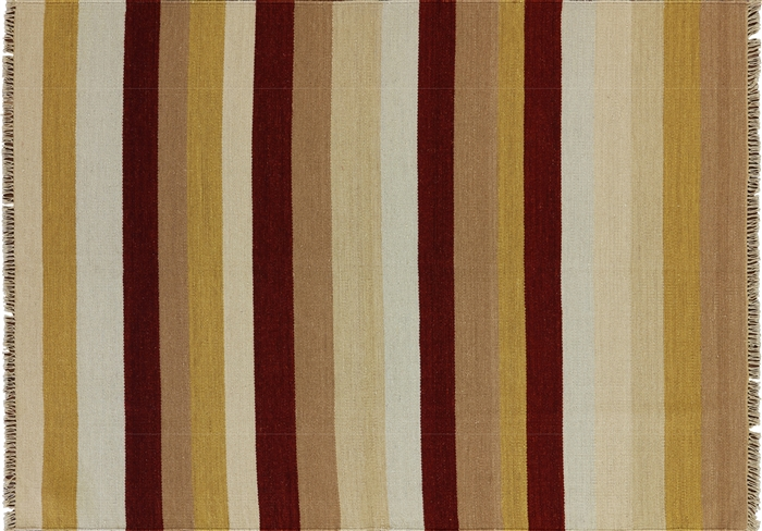 Multi-color Kilim Hand Knotted Modern Rug