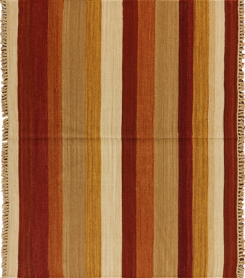Square Kilim Hand Knotted Rug