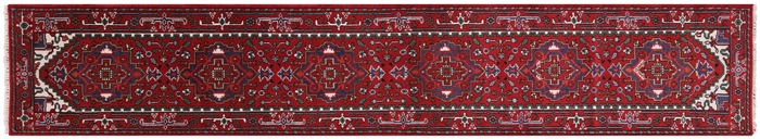 Runner Serapi Red Hand Knotted Rug