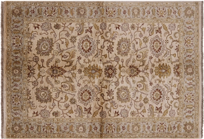 Floral Persian Hand Knotted Wool Area Rug