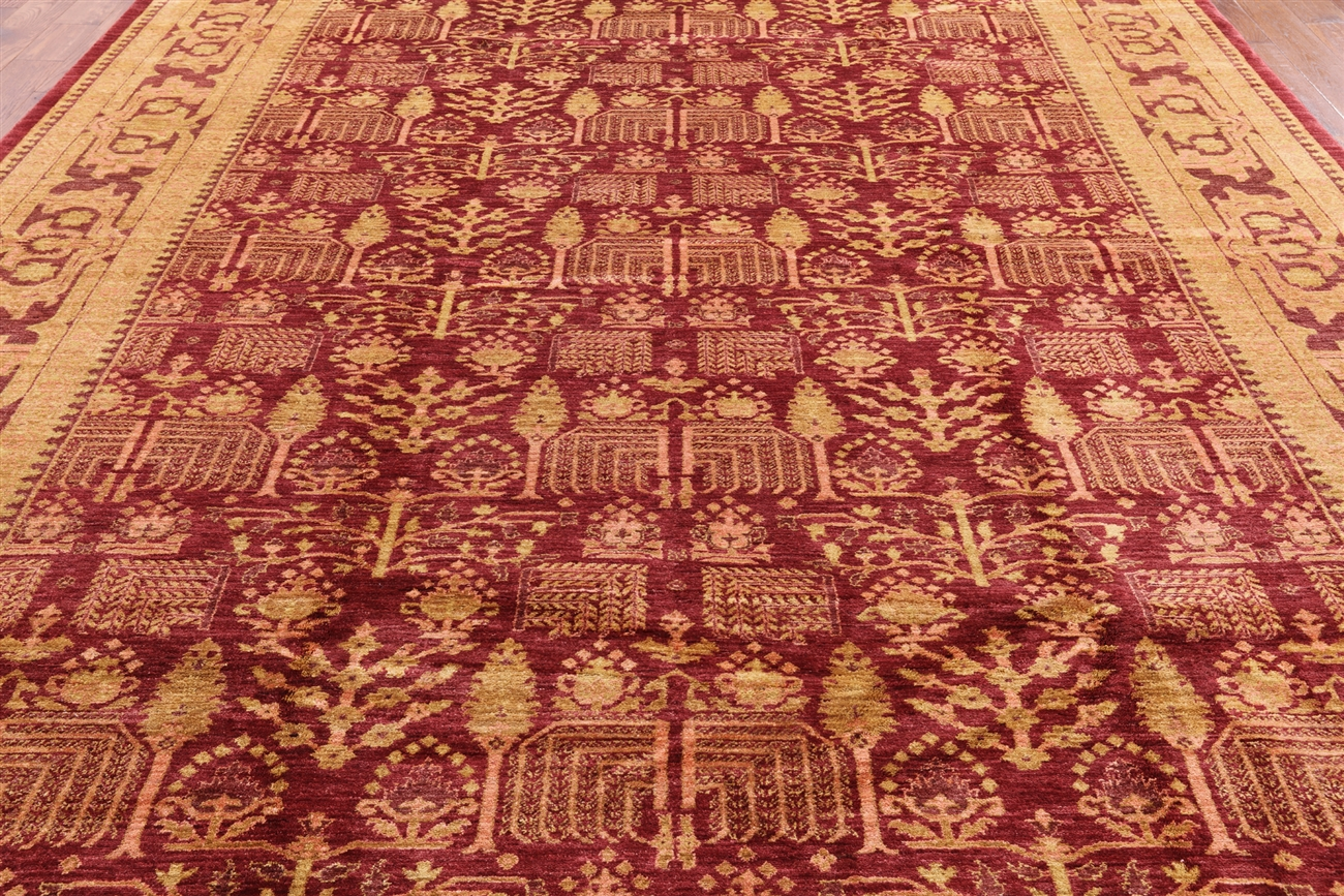 Persian Hand Knotted Ziegler Oriental Rug 10 X 14 W1419
