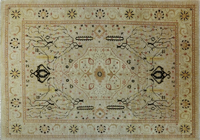 Persian Chobi Oriental Hand Knotted Ziegler Rug