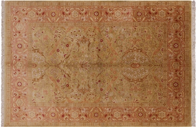 Peshawar Hand Knotted Wool Rug