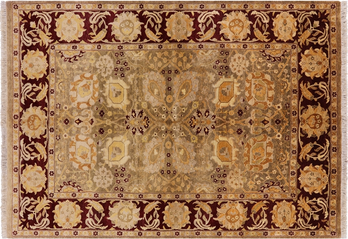 Hand Knotted Persian Wool Area Rug