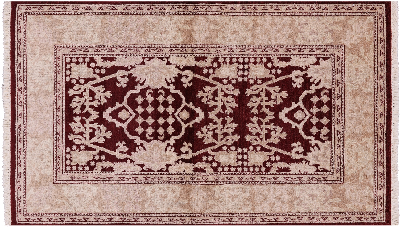 Persian Hand Knotted Wool Rug 3 X 5 W1480