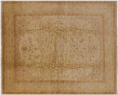 Persian Ziegler Hand-Knotted Wool Rug