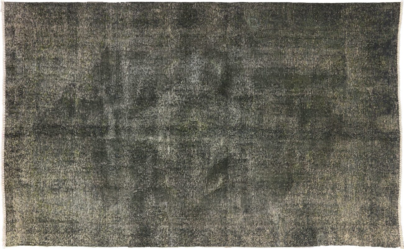Overdyed Collection Oriental Rug 6 X 10 W1679