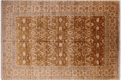 Oriental Peshawar Hand Knotted Rug