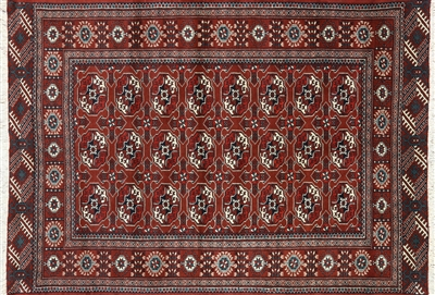Bokhara Wool on Wool Persian Rug