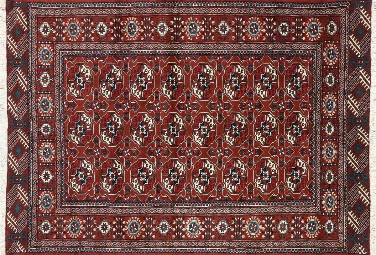 Wool On Persian Rug
