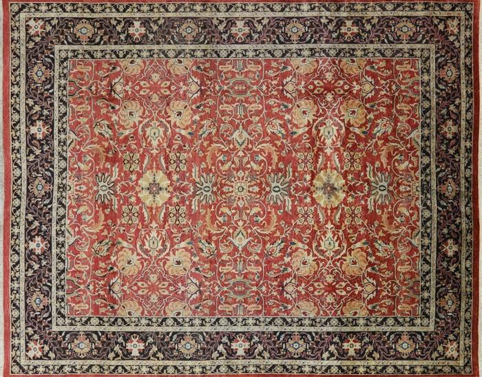 Persian Oriental Area Rug 8 X 10 W1916